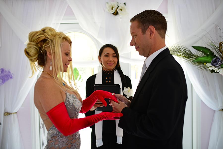 Las Vegas 69 Shades Of Grey Theme Wedding